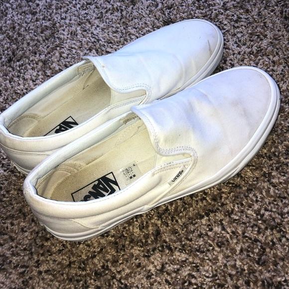 all white vans